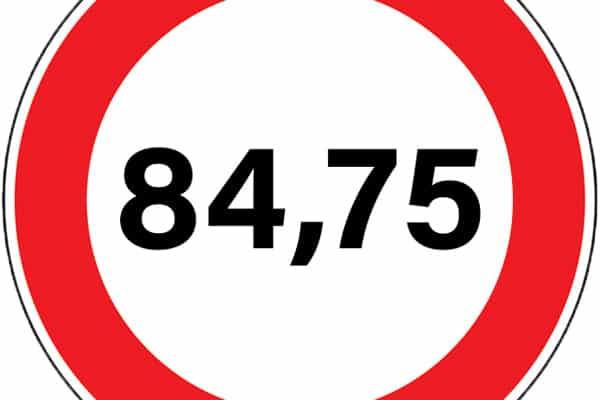 Le gouvernement fait marche arrière, la vitesse maximale sur les routes nationales relevée à 84,75 km/h