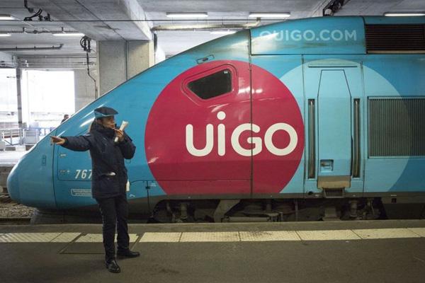 Les TGV OuiGo vont être rebaptisés UiGo en Lorraine