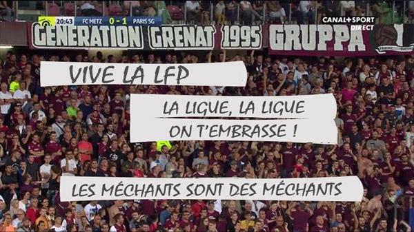 La LFP va distribuer ses propres banderoles à l'entrée des stades