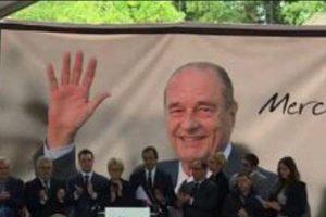 Le dernier hommage de Sainte-Féréole à Jacques Chirac