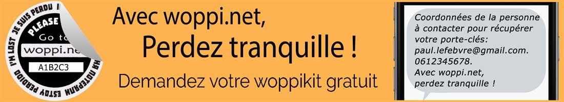 Bannière Pub woppi.net - Avec woppi.net, perdez tranquille